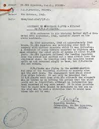 Air Force Recommendation Letter Sample Classy Battle Of Britain London Monument PO A W CLARKE
