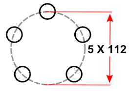 5×112 Bolt Pattern