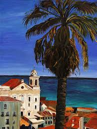 puerto rico painting puerto rico old san juan by gregory allen page