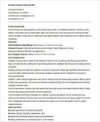 Data Scientist Resume New Data Scientist Resume On Resume Cover Letter Sample Data Scientist