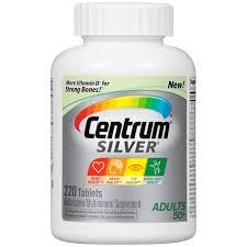 centrum silver women 200 count complete multivitamin multimineral supplement tablet vitamin d3 calcium b vitamins age 50 com