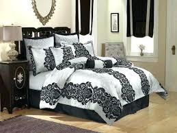 damask bedding set damask bedding sets large size of dramatic black and white comforter set bedding