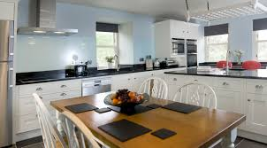 perfect blue kitchen countertops ideas marble cost absolute black granite prefab c full size