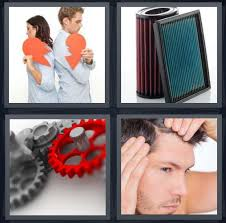 4 pics 1 word answer for breakup