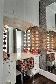 makeup vanity lights lightingdirectcom diy. full image for washstands and vanity units makeup station in a recessed closet space light shades lights lightingdirectcom diy i
