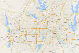 map of dfw dallas county texas public schools by independent