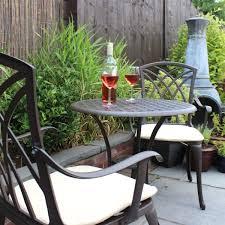patio furniture sets for sale. Bentley-Garden-Furniture-3-Piece-Cast-Aluminium-Bistro- Patio Furniture Sets For Sale