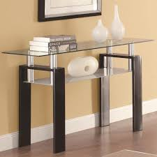 black glass sofa table  stealasofa furniture outlet los angeles ca