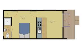 Kiwi Cabin Floorplan