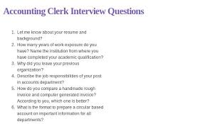 Accountant Interview Questions And Answers For Experienced Medal
