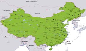 china city maps maps of major cities in china