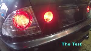 Toyota Altezza Lights Project Altezza 4 Light Conversion Install