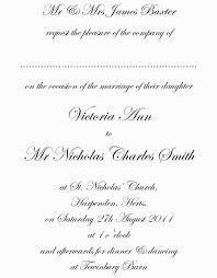 Traditional Wedding Invitation Wording Vertabox Com
