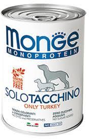 <b>MONGE DOG MONOPROTEICO</b> SOLO <b>КОНСЕРВЫ</b> ДЛЯ СОБАК ...