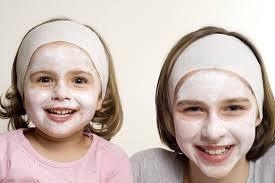 Facial recipes for girls