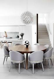 impressive black and white upholstered dining chair dining room contemporary intended for white upholstered dining chairs attractive