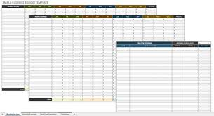Monthly Business Expenses Template Fascinating Free Startup Plan Budget Cost Templates Smartsheet