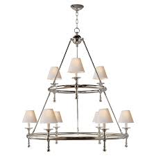 e f chapman classic two tier ring chandelier by visual comfort image 4
