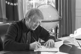 jimmy carter oval office. Jimmy Carter At His Desk In The Oval Office, 1977 Office K