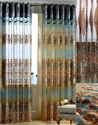 brown shower curtains tan bathroom tiles black and light blue and