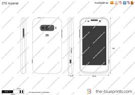 ZTE Imperial vector drawing
