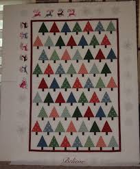 Christmas Tree Quilt | If These Threads Could Talk & I Believe Christmas quilt Adamdwight.com