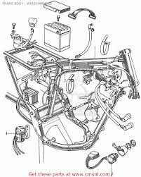 Harnesswire cb350k4 general export kmh radio wiring diagram for 1997