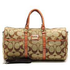 ... closeout coach bleecker monogram in signature large khaki luggage bags  afl 7c350 6bca8 ...