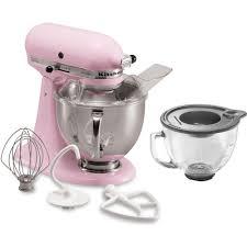 Pink Kitchen Aid Mixer Kitchenaid Artisan 5 Qt Pink Stand Mixer Ksm150pspk 3 Kit The
