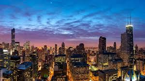 Chicago Night Life HD wallpaper