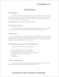 Mobile Device Test Engineer Sample Resume Classy Manual Testing Sample Resume Manual Testing Fresher Resume Samples