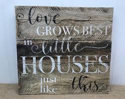 Small Picture Little house sign Etsy
