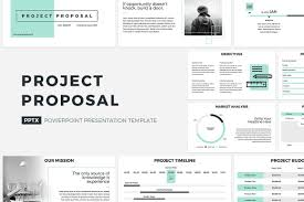 Powerpoint Proposal Template Project Proposal PowerPoint Template by CreativeSlides on 1