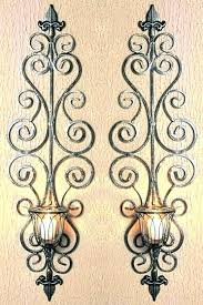 wall decor candle holders