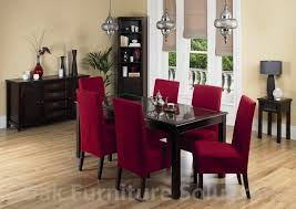 awesome red dining room chairs home design interior
