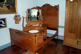 Bedroom Sets On Craigslist Beautiful Three Piece Solid Oak Bedroom Set For  Sale