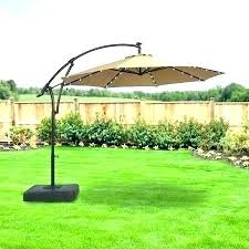solar cantilever umbrella patio