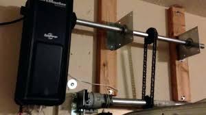 wall mount garage door opener liftmaster wall mount garage door opener