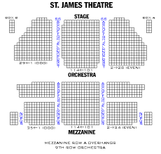 St James Theatre Frozen Seating Chart St James Theatre Broadway Frozen Book Your Tickets Online