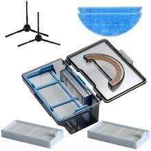 <b>Dust Box</b> Side <b>Brush</b> Hepa Filter Mop Cloth for Ilife V5 V50 V55 X5 ...