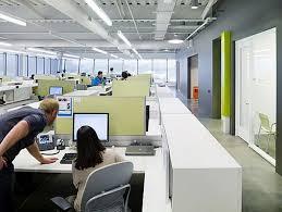 Belkin's Modern Office Interior Design. Open CeilingOffice ...