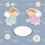 Маленькие ангелы открытки