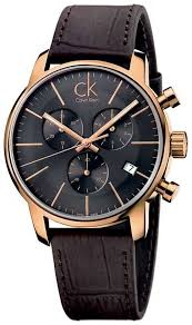 calvin klein mens rose gold black dial watch k2g276g3 calvin klein k2g276g3