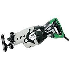 hitachi reciprocating saw. hitachi cr13vby 12-amp reciprocating saw with user vibration protection technology i