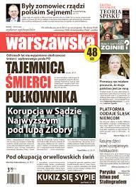 Image result for WARSZAWSKA GAZETA