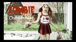 zombie cheerleader makeup tutorial