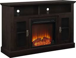 fireplace tv console