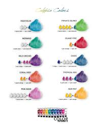 Joico Vero K Pak Color Intensity Calypso Colors Shade Chart