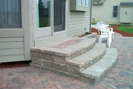 modren patio incredible patio stone steps concrete building paver stairs in paver patio steps d
