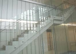 Image of: Glass railing cost